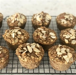 Picture of Almond Butter Oatmeal Cups